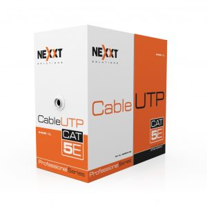 Cable utp cat5e para exteriores tipo cmx negro,energy solutions group y nexxt energy