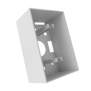 Caja para montaje en superficie de 4x2 blanca,energy solutions group y nexxt energy.