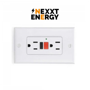 Toma corriente doble,energy solutions group y nexxt energy